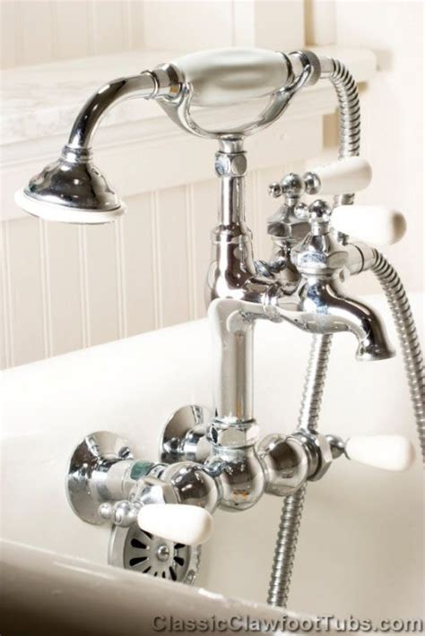 clawfoot tub fixtures 8 best images about clawfoot tub faucets on