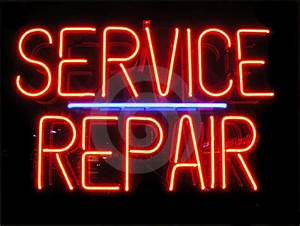 Service and Repair Existing Signs