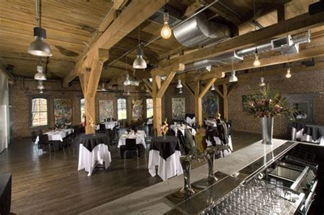 wedding reception  wood  brick  bridgeport brewpub