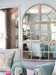 le miroir fenetre en 53 photos archzinefr With couleur peinture pour couloir 13 le miroir mural grande taille accessoire pratique et