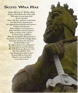 Summary and Analysis of Scots Wha Hae by Robert Burns ...