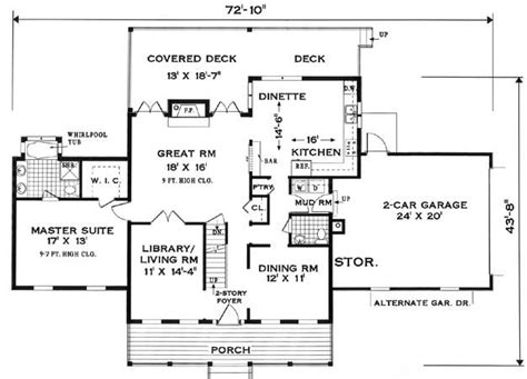fist floor colonial house plans country style house plans colonial bedroom