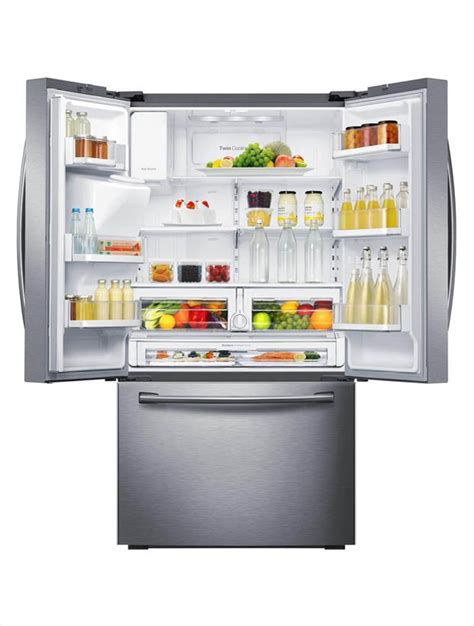 samsung 22 5 cu ft french door refrigerator in stainless