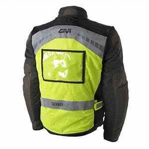Gilet Haute Visibilité Moto : givi trekker un gilet haute visibilit avec poches et ~ Maxctalentgroup.com Avis de Voitures