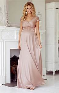 Francesca maternity maxi dress blush maternity wedding for Maternity maxi dress for wedding