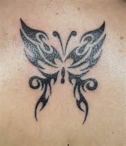 Tribal Butterflies Tattoo Designs