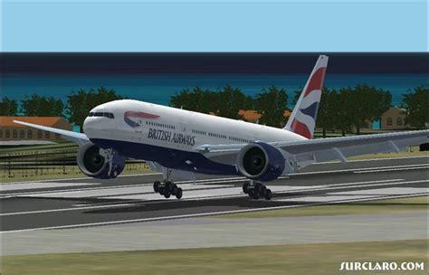 FS2002 BA Landing At TNCM (16326) SurClaro Photos