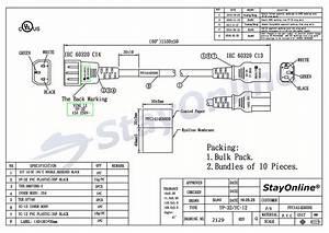 Shielded Power Cord Wiring Diagram