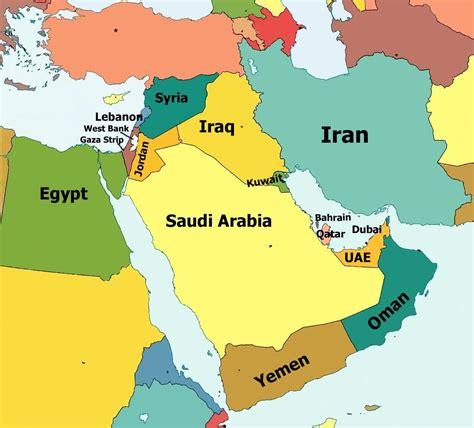 Lebanon, Jordan, Syria, Iraq, Oman, Qatar, Bahrain, Dubai ...