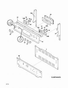 Frigidaire Lgef3045kfk Electric Range Parts