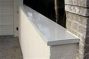 Pose De Couvertine : couvertine zinc pour muret rev tements modernes du toit ~ Dallasstarsshop.com Idées de Décoration