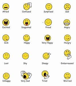 Feelings chart to get students who are nonverbal to ...