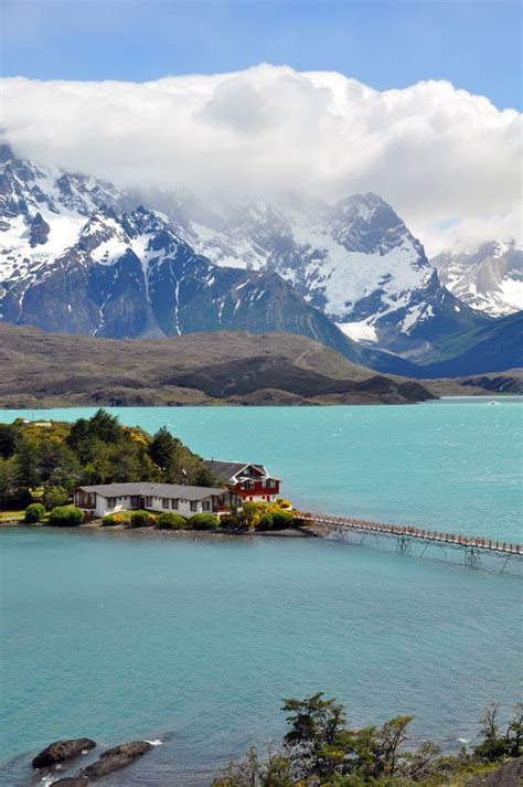 Lago Pehoe In Torres Del Paine National Park Awesome
