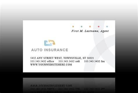 Car Insurance Card Template