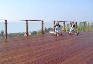 Ipe Deck Glass Railing