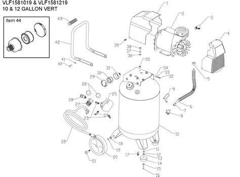 Coleman Powermate Vlf Parts Mtr