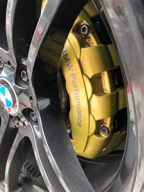 original bmw performance brembo  pot brake calipers