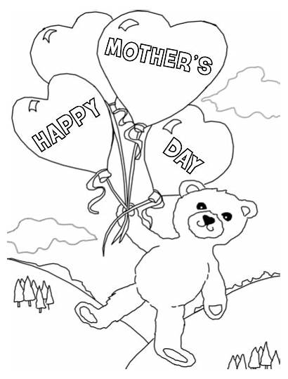 Coloring Pages Mother Printable Recovery Mothers Address