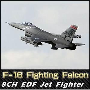 FB Super F16 Fighting Falcon RC EDF Jet Fighter,RC ...