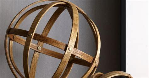 Decorative Orbs Wood Metal Ball Rustic Home Decor Spheres: Retropolitan: DIY Metal Decorative Spheres