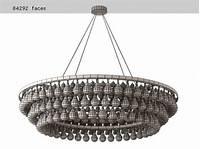 arctic pear chandelier Arctic Pear Chandelier Round 120 3d model | Ochre