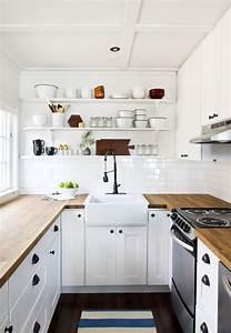 Idée Aménagement Petite Cuisine : 35 id es pour am nager une petite cuisine petite cuisine ~ Dailycaller-alerts.com Idées de Décoration