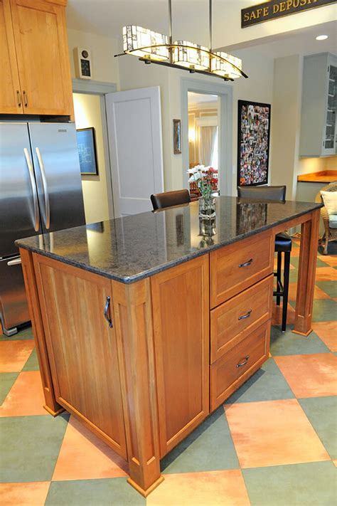 how to add a kitchen island rb schwarz inc custom remodeling and home renovations 8489