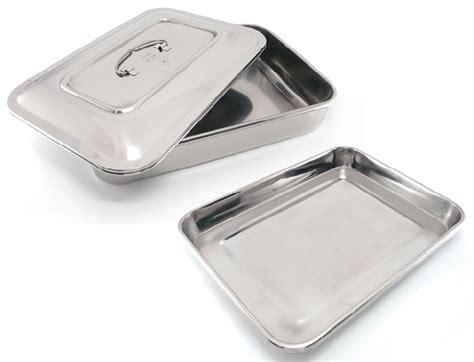 medium stainless steel flat tray