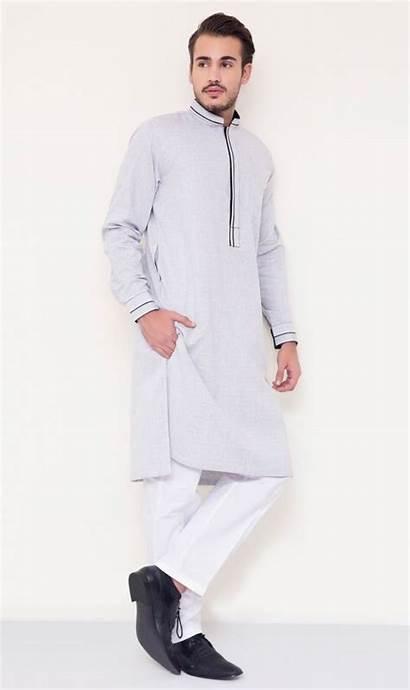 Kurta Eid Mens Wear Designs Latest Shalwar