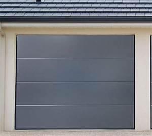 Porte de garage sectionnelle jumele avec montage porte for Porte de garage enroulable jumelé avec montage porte blindée