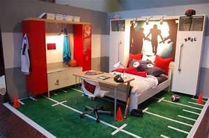 Fussball Kinderzimmer Ideen : 110 prima ideen jugendzimmer einrichten ~ Markanthonyermac.com Haus und Dekorationen