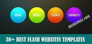 30 Best Flash Websites Templates DesignMaz