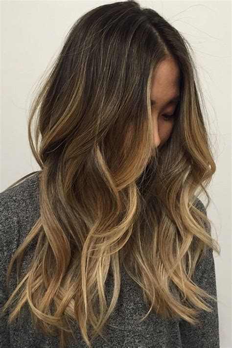 dark brown hair with light brown tips 29 brown hair with blonde highlights looks and ideas
