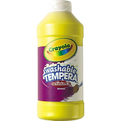 Crayola Artista Ii Washable Tempera Paint Crafting