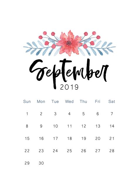 september  iphone calendar wallpaper