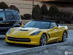 Corvette C7 Cabriolet : chevrolet corvette c7 stingray convertible 18 january 2014 autogespot ~ Medecine-chirurgie-esthetiques.com Avis de Voitures