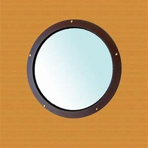 Insert Alu Pour Porte Intérieure : hublot circulaire de 40 cm de diam tre oculus de porte atlantic cintrage ~ Voncanada.com Idées de Décoration