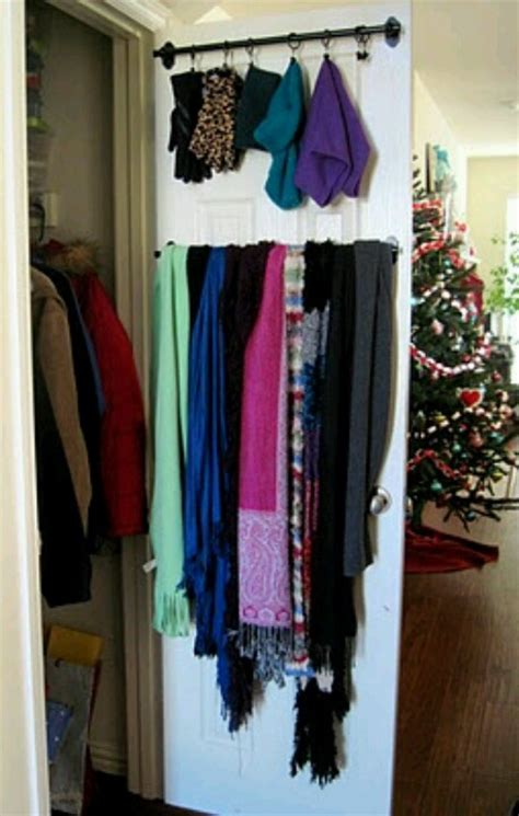 1000 images about organize winter scarves hats and