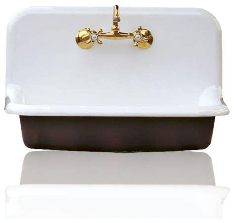 black porcelain kitchen sink 30 quot high back farm sink cast iron porcelain kitchen sink 4738