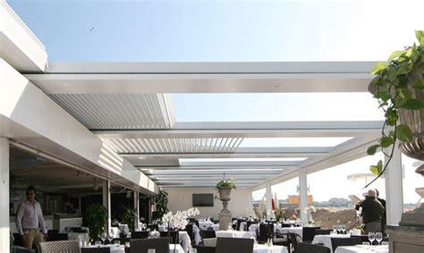 strutture in alluminio per terrazzi coperture per terrazzi in alluminio con copertura terrazze