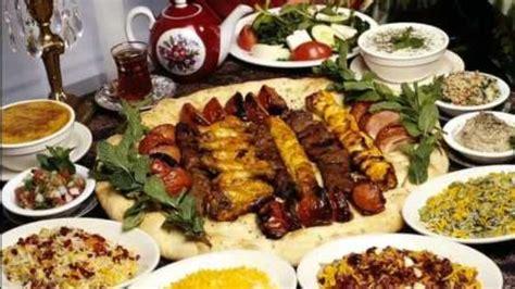 cuisine ramadhan presstv iftar table festival held in tehran