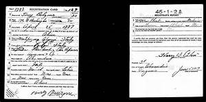 WWI Draft Card (June 5, 1917) | Immigrant Alexandria