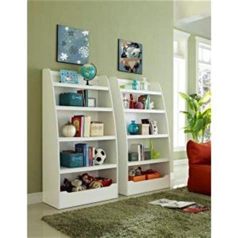 white childrens bookshelf altra furniture 4 shelf bookcase in white 9627196 1014
