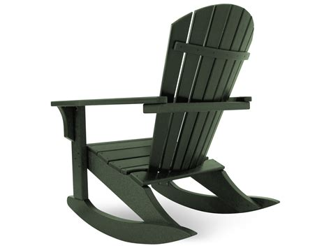 Polywood Seashell Adirondack Rocking Chair by 19 Plastic Adirondack Rocking Chair Carehouse Info