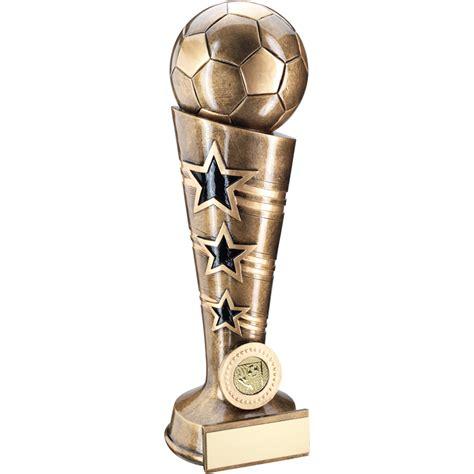 Football Column Resin Trophy - Victory Trophies