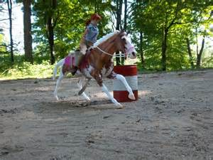 Breyer Horses Barrel Racing