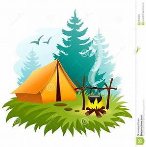 Cartoon Campfire And Tent | Clipart Panda - Free Clipart ...