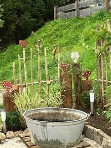 Gartenzaun Ideen Gestaltung : dekoelement gartenzaun diy garten pinterest ~ Yasmunasinghe.com Haus und Dekorationen