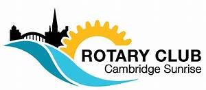 New logo for the Rotary Club of Cambridge Sunrise | Rotary ...