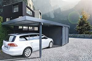 Einzelcarport Mit Geräteraum : carports metall uninorm technic ag ~ Sanjose-hotels-ca.com Haus und Dekorationen